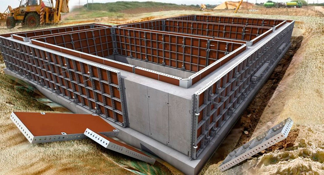 Цены на строительство фундамента