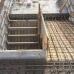 Заливка монолитной лестницы в г. Гурьевске
