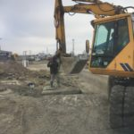 Ливневая канализация по ул. Орудийная