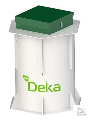 Станция био очистки для большого загородного дома «БиоДека-10»