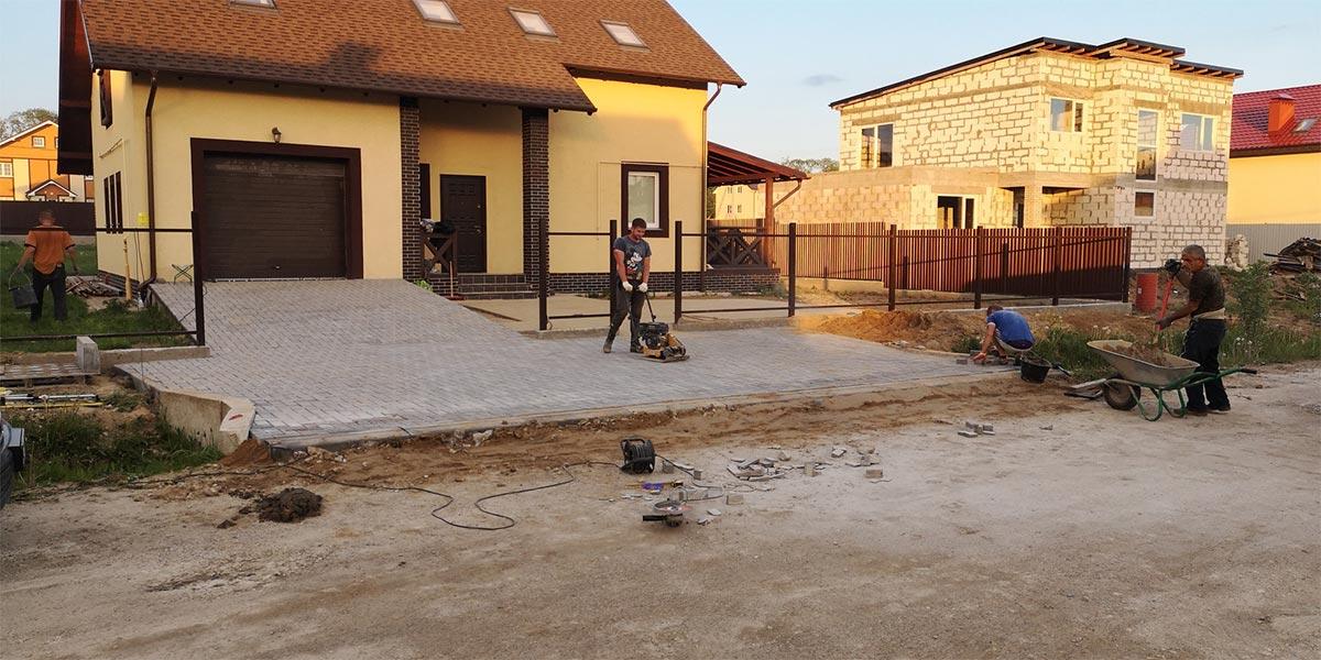 Строительство домов. Инженерные сети. Благоустройство.