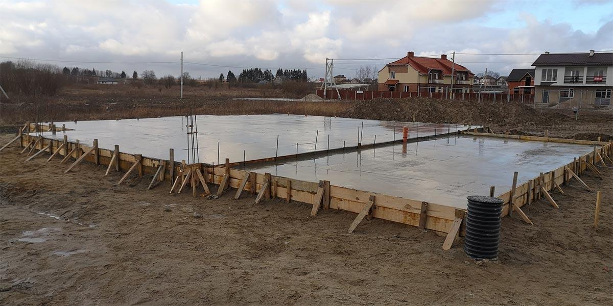 Строительство фундаментов в Калининграде