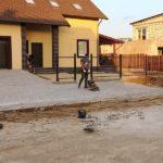 Укладка тротуарной плитки в п. Заостровье