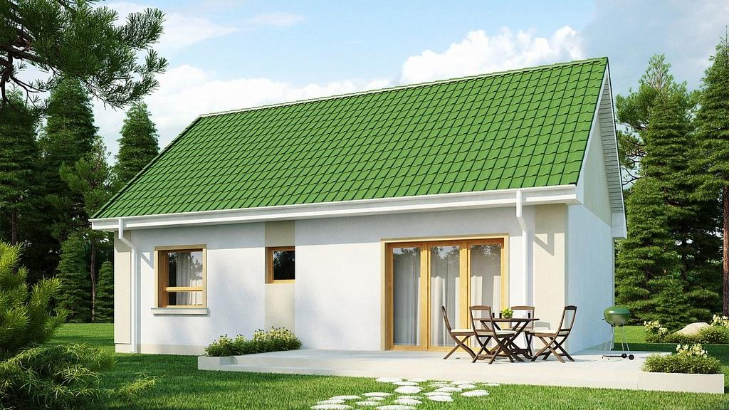 Проект загородного дома 70 кв.м