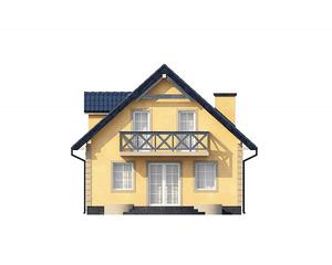 Проект загородного дома №1