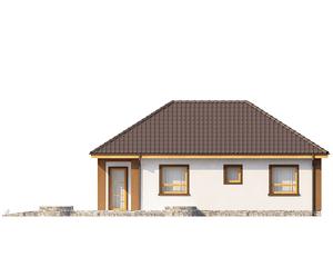 Проект загородного дома, 77 кв.м.