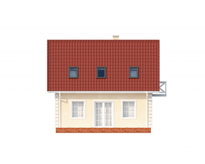 Проект загородного дома, 110 кв.м.