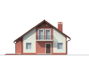 Проект загородного дома, 170 кв.м.