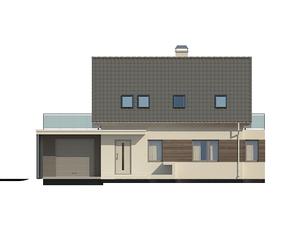Проект загородного дома, 180 кв.м.