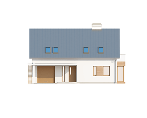 Проект загородного дома, 200кв.м.