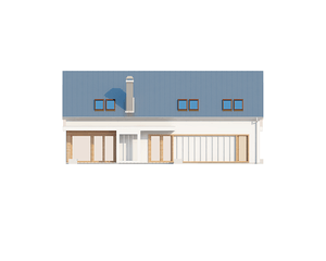 Проект загородного дома, 223 кв.м.