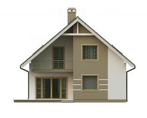 Проект загородного дома, 130 кв.м.