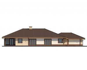 Проект загородного дома, 270 кв.м.