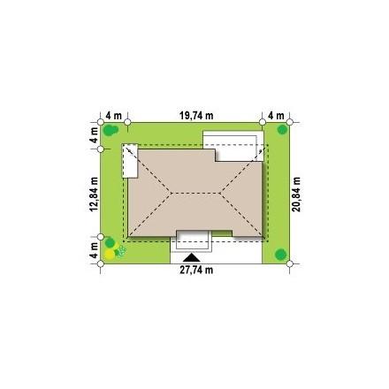 Проект загородного дома, 190 кв.м.